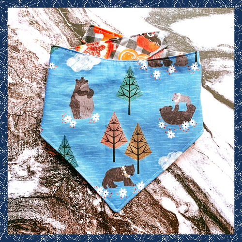 Iced Bears Winter Bandana - The Collective Wolf