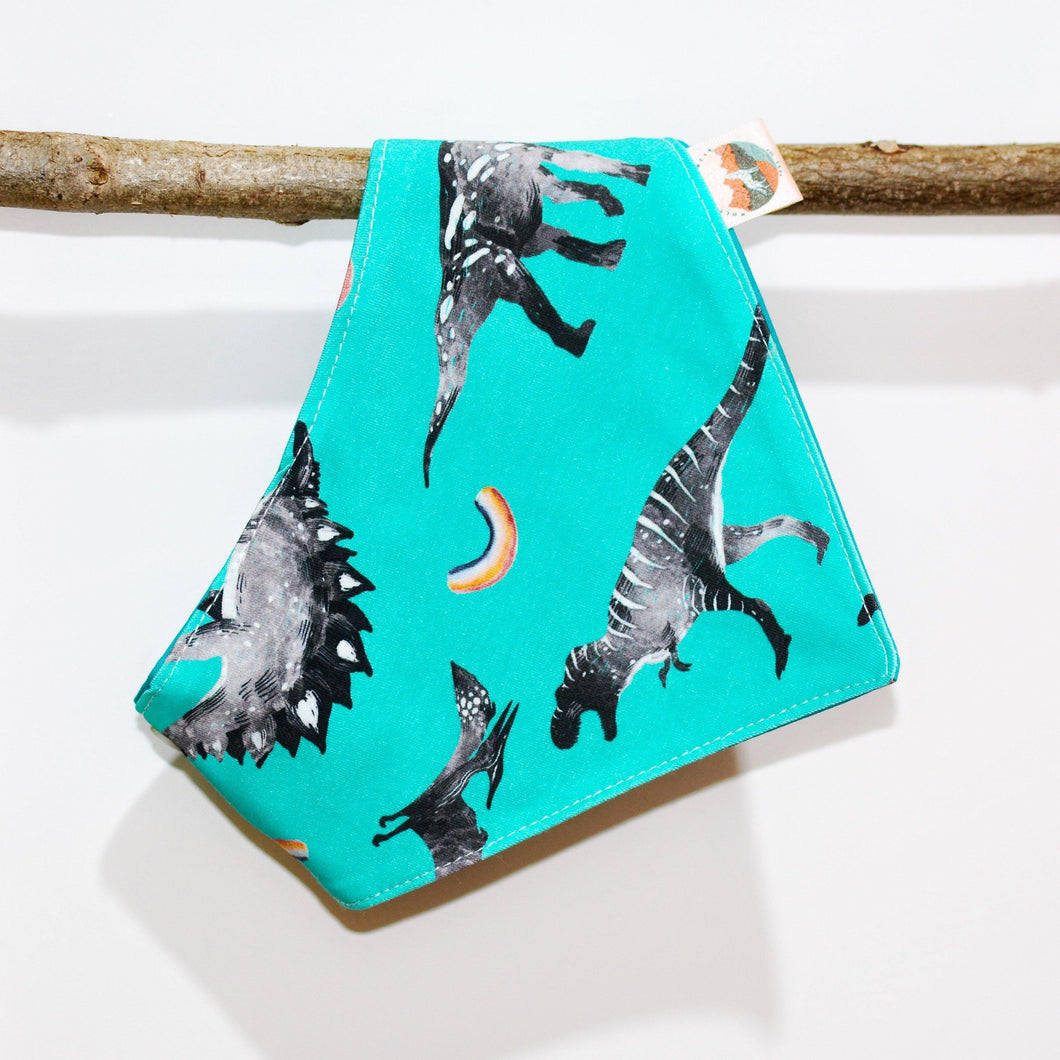 Rainbow Dinos Bandana - The Collective Wolf