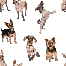 Load image into Gallery viewer, Custom Pet Portraits Fabric Design - The Collective Wolf