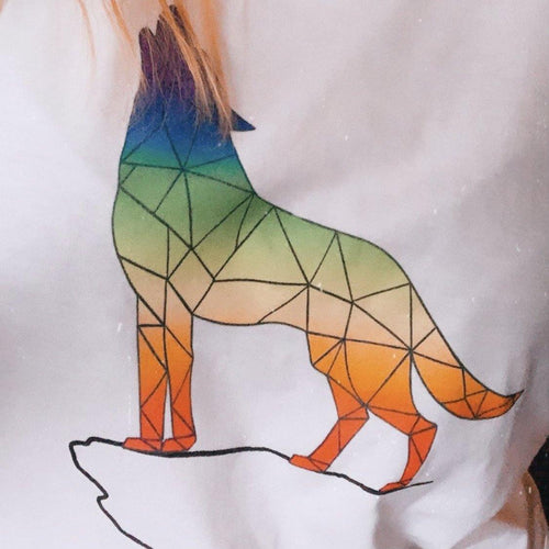 Pride Wolf Unisex Baseball T-shirt - The Collective Wolf