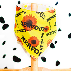 SUNFLOWER Yellow Club Nervous Bandanas - The Collective Wolf