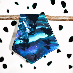 Aurora Northern Lights Bandana - The Collective Wolf
