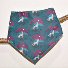 Charger l'image dans la galerie, Moonlit Desert Bandana (Matching T-Shirt Available) - The Collective Wolf