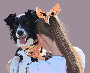 Digital Pet Portrait!
