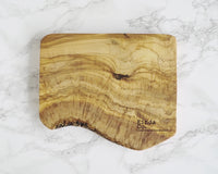 Kinda Co. Olive Wood Logo Board