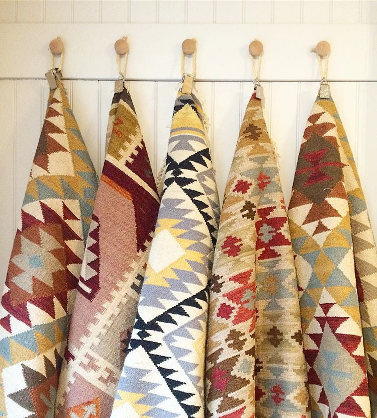 New Handmade Kilim Rugs now in store