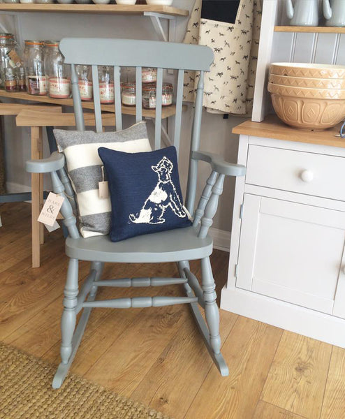 rocking chair in farrow and ball plummet