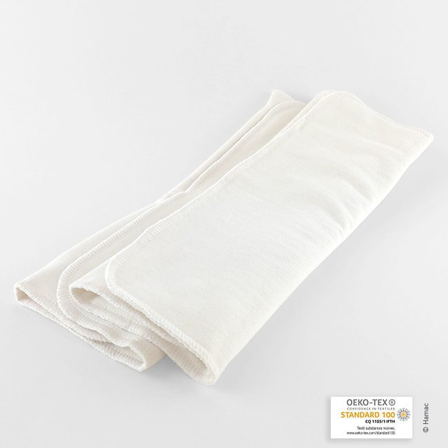 Absorbants lavables X2 - Taille 1 - Madeleine et Pirouette