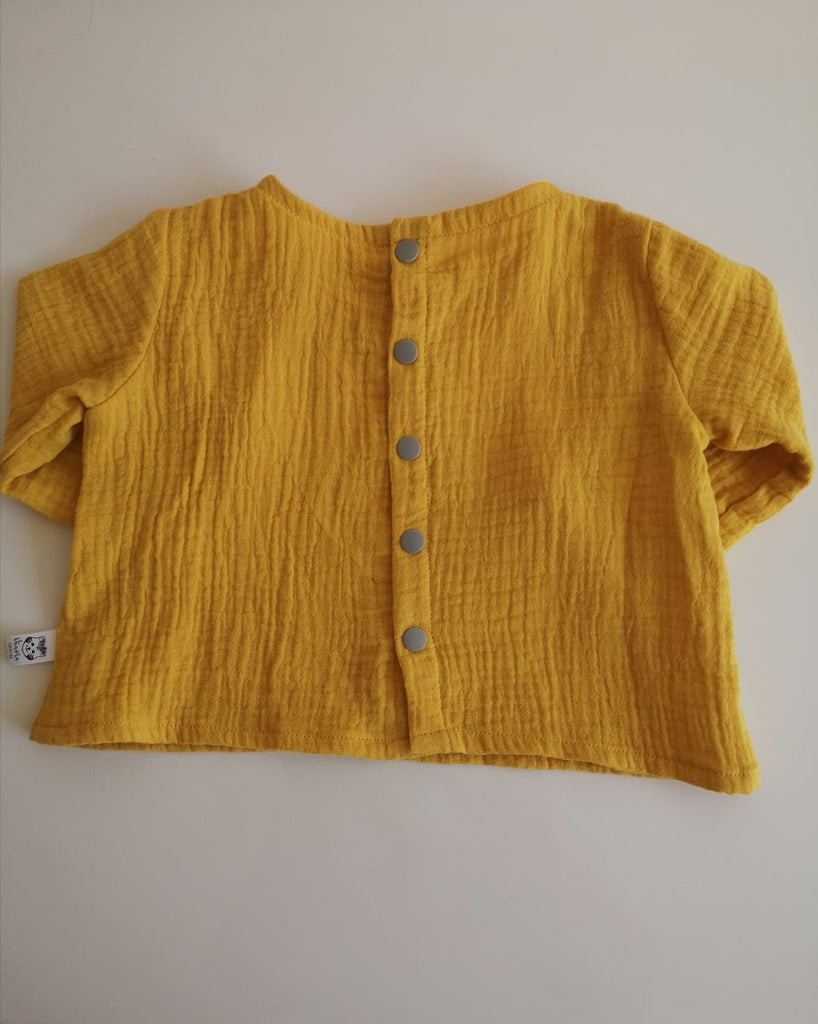 Blouse enfant - moutarde
