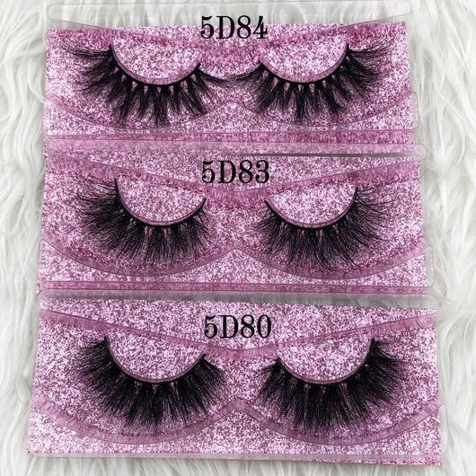 Thick Long 5D mink eyelashes