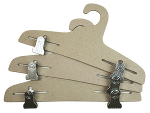 "15"" Ditto Adjustable Clip Hanger / 50-Pack"