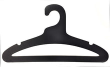 "Load image into Gallery viewer, 17"" Multi-Use Ditto Hanger - BLACK / 10-Pack"