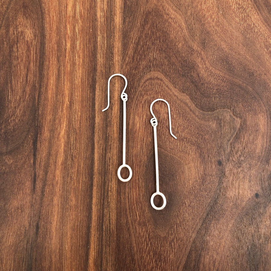 line and drop earring