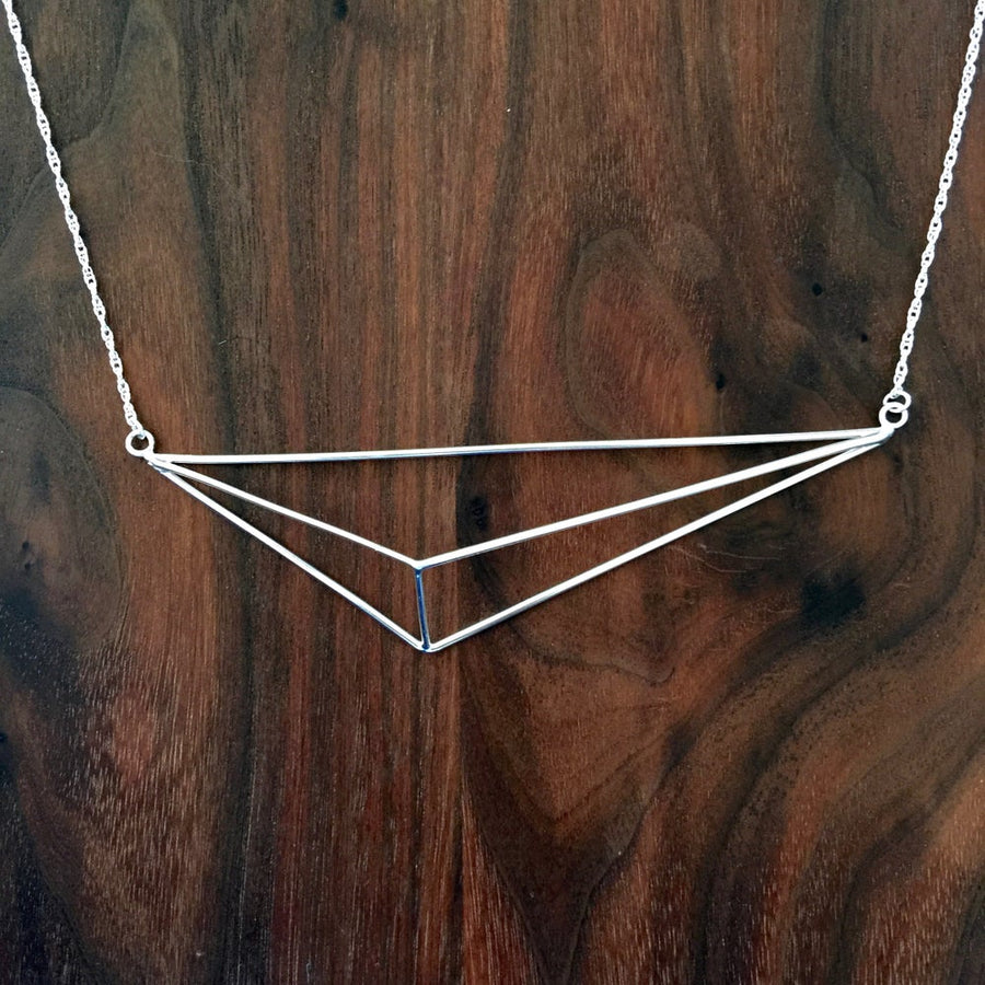 large pyramid collar