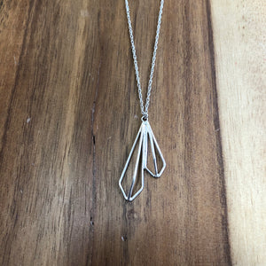 Sample - small double kite necklace