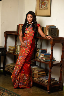 Red Stitched Kantha (IL-417)