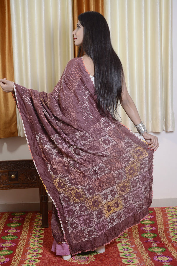 Munga Silk Multi Color Bharti Saree-003