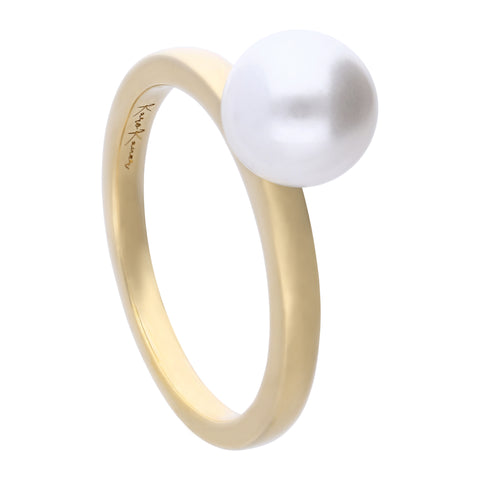 Pearl Ring Gold