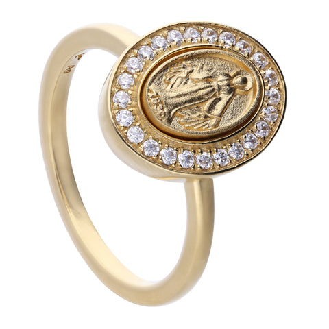 Faith Ring Gold Small