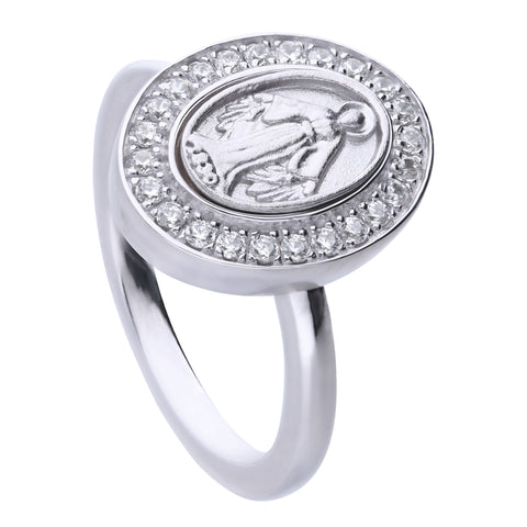 Faith Ring Silver Small