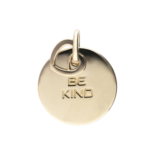 Be Kind Charm Gold