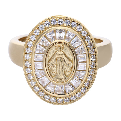 Faith Ring Gold Large