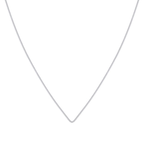 Fina Necklace Silver