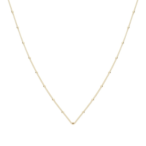 Simple Necklace Gold
