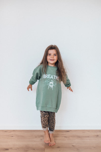Bee Sweater Kids Mint