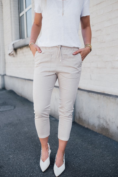 Pocket Pants Ivory