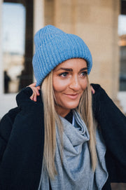 Lio Beanie Light Blue