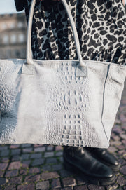 Snake Shopper Grey