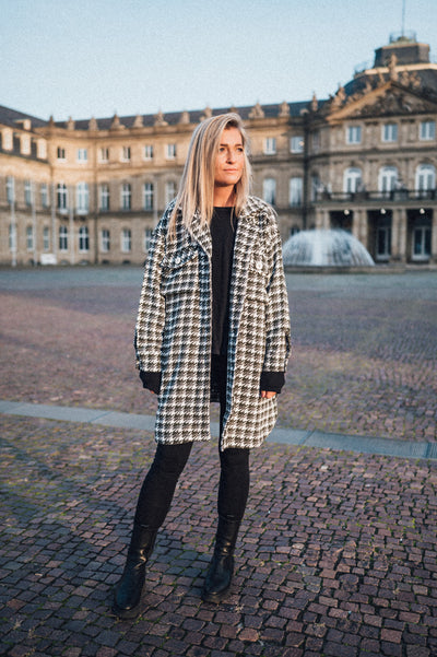 Willow Coat Plaid