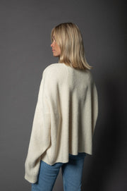 Suna OV Knit Sweater Ivory