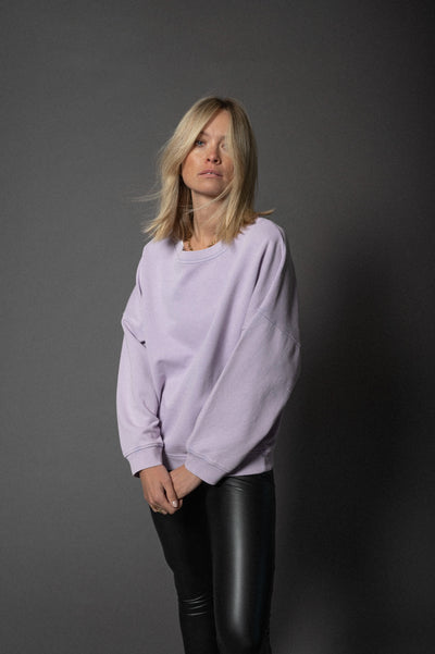 Nora Sweater Lilac Breeze