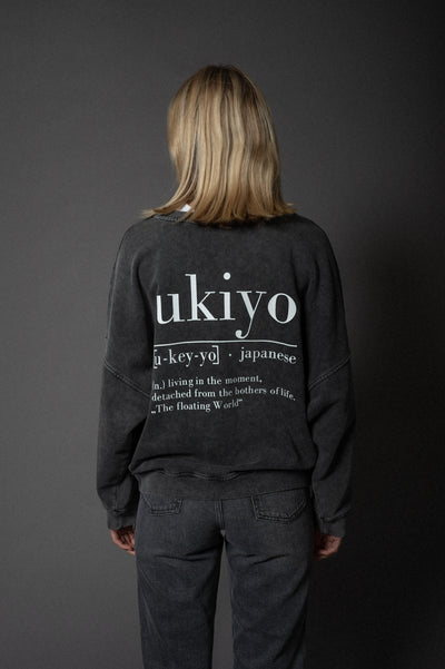 Nora Sweater Ukiyo Faded Black