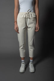 Abby Mom Pants Ivory
