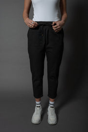 Abby Mom Pants Black