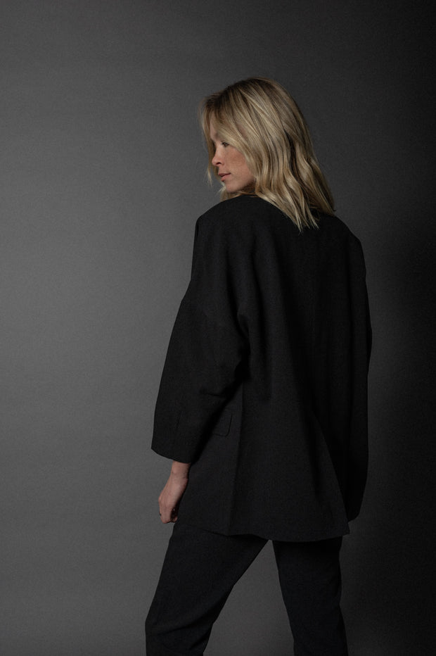 Jade Oversized Blazer Black