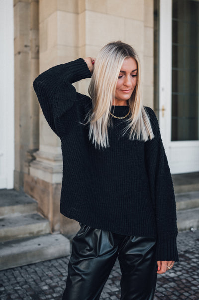 Rylee Knit Sweater Black