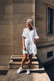 Joy Dress Basic Ivory