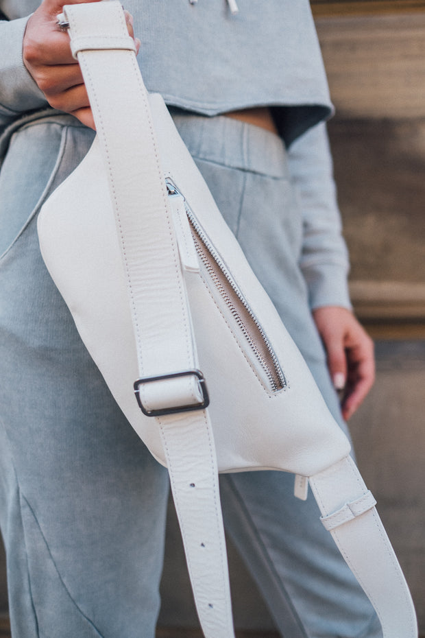KARO KAUER Bum Bag White