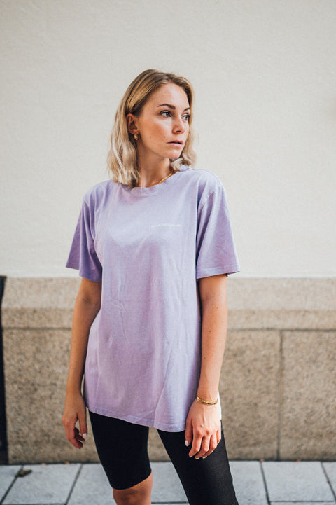 Soul T-Shirt Acid Washed Purple
