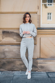 Stella Joggers Acid Washed Grey