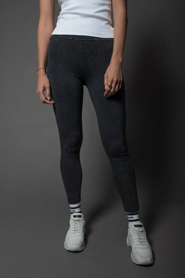Amy Leggings Faded Black