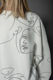 Head Sweater Ivory