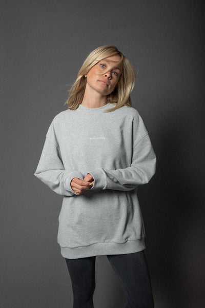 Karo Kauer Sweater Light Grey