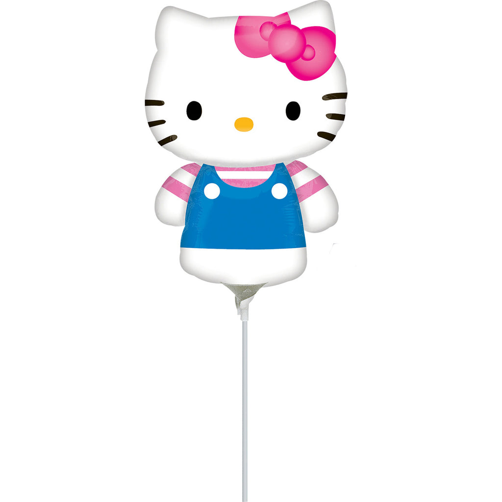 HELLO KITTY SUMMER FUN MINI SHAPE AIR-FILLED BALLOON 14IN - House of Party Kenya