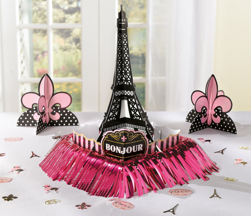 DAY IN PARIS TABLE DECORATING KIT - House of Party Kenya