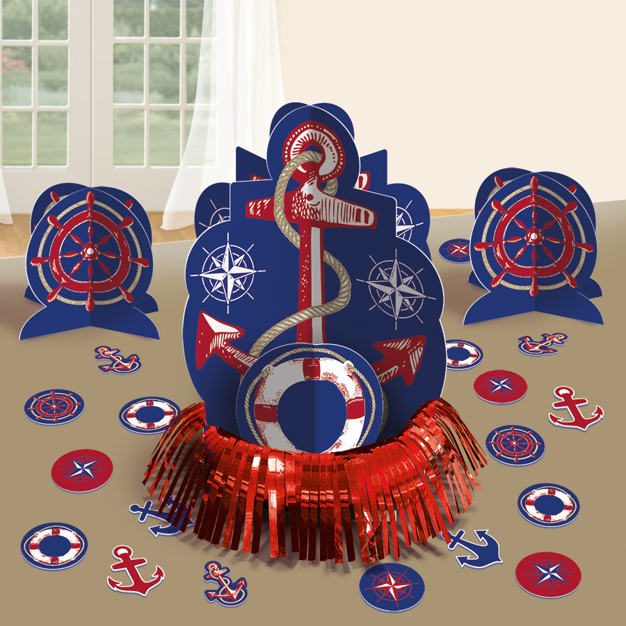 ANCHORS AWEIGH DECORATING TABLE KIT - House of Party Kenya